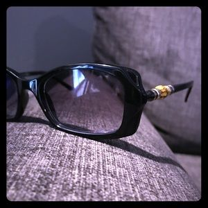 Gucci Frames Bamboo Accent